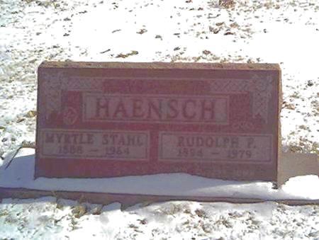 HAENSCH, MYRTLE - Cerro Gordo County, Iowa | MYRTLE HAENSCH