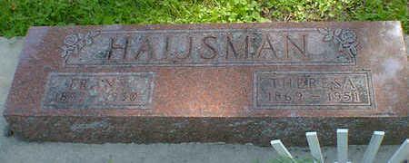 HAIJSMAN, FRANK - Cerro Gordo County, Iowa | FRANK HAIJSMAN