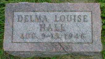 HALL, DELMA LOUISE - Cerro Gordo County, Iowa | DELMA LOUISE HALL