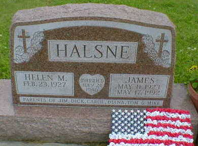 HALSNE, JAMES - Cerro Gordo County, Iowa | JAMES HALSNE