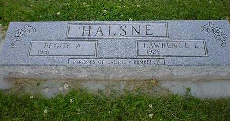 HALSNE, PEGGY A. - Cerro Gordo County, Iowa | PEGGY A. HALSNE