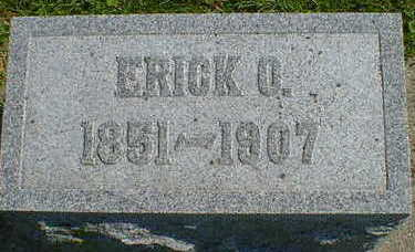 HALVORSON, ERICK O. - Cerro Gordo County, Iowa | ERICK O. HALVORSON