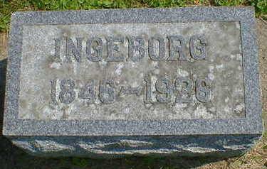 HALVORSON, INGEBORG - Cerro Gordo County, Iowa | INGEBORG HALVORSON