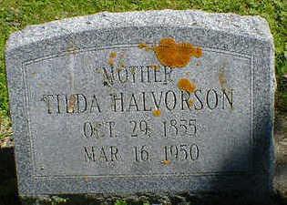 HALVORSON, TILDA - Cerro Gordo County, Iowa | TILDA HALVORSON