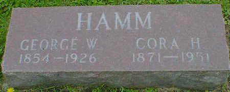 HAMM, CORA H. - Cerro Gordo County, Iowa | CORA H. HAMM