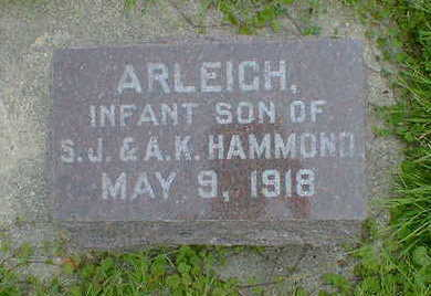 HAMMOND, ARLEIGH - Cerro Gordo County, Iowa | ARLEIGH HAMMOND