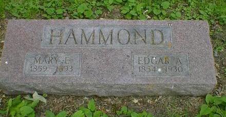 HAMMOND, EDGAR A. - Cerro Gordo County, Iowa | EDGAR A. HAMMOND