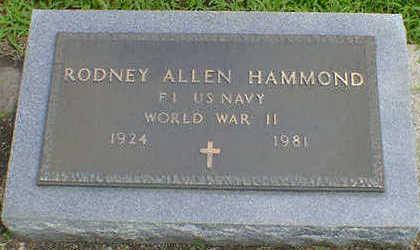 HAMMOND, RODNEY ALLEN - Cerro Gordo County, Iowa | RODNEY ALLEN HAMMOND