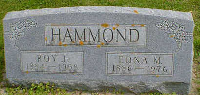 HAMMOND, ROY J. - Cerro Gordo County, Iowa | ROY J. HAMMOND
