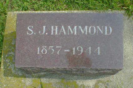 HAMMOND, S. J. - Cerro Gordo County, Iowa | S. J. HAMMOND