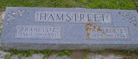 HAMSTREET, FRANCIS E. - Cerro Gordo County, Iowa | FRANCIS E. HAMSTREET