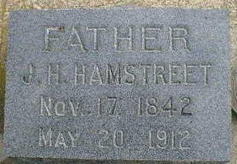 HAMSTREET, J.H. - Cerro Gordo County, Iowa | J.H. HAMSTREET