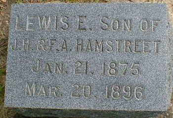 HAMSTREET, LEWIS E. - Cerro Gordo County, Iowa | LEWIS E. HAMSTREET
