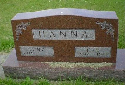HANNA, JUNE - Cerro Gordo County, Iowa | JUNE HANNA