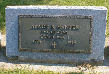 HANSEN, ARNOT R. - Cerro Gordo County, Iowa | ARNOT R. HANSEN