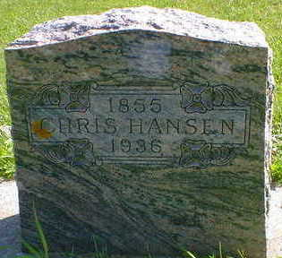HANSEN, CHRIS - Cerro Gordo County, Iowa   CHRIS HANSEN