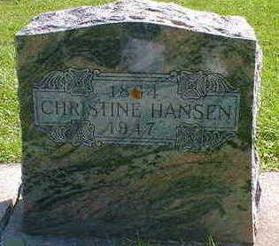 HANSEN, CHRISTINE - Cerro Gordo County, Iowa | CHRISTINE HANSEN
