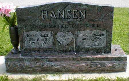 HANSEN, DONNA MARIE - Cerro Gordo County, Iowa   DONNA MARIE HANSEN