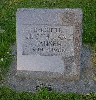HANSEN, JUDITH JANE - Cerro Gordo County, Iowa | JUDITH JANE HANSEN