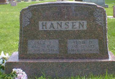 HANSEN, SUSIE O. - Cerro Gordo County, Iowa | SUSIE O. HANSEN