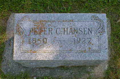 HANSEN, PETER C. - Cerro Gordo County, Iowa | PETER C. HANSEN