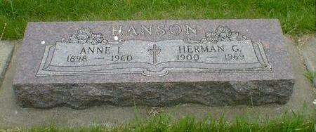 HANSON, HERMAN G. - Cerro Gordo County, Iowa | HERMAN G. HANSON