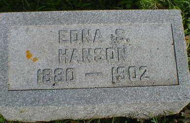 HANSON, EDNA S. - Cerro Gordo County, Iowa | EDNA S. HANSON