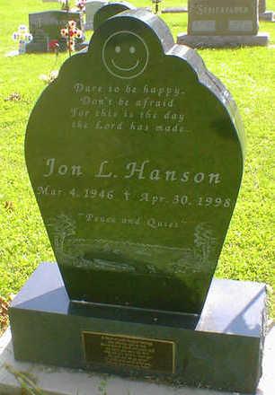HANSON, JON L. - Cerro Gordo County, Iowa | JON L. HANSON