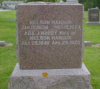 MOODY HANSON, ADA J. - Cerro Gordo County, Iowa | ADA J. MOODY HANSON