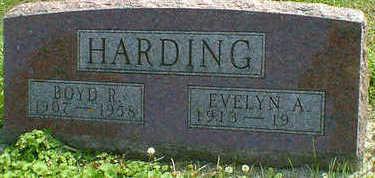 HARDING, BOYD R. - Cerro Gordo County, Iowa   BOYD R. HARDING
