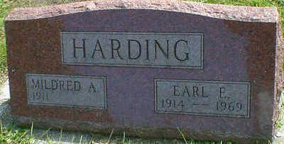 HARDING, EARL E. - Cerro Gordo County, Iowa | EARL E. HARDING