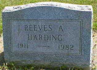 HARDING, REEVES A. - Cerro Gordo County, Iowa   REEVES A. HARDING