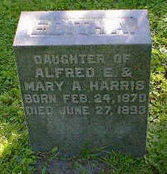 HARRIS, EDITH A. - Cerro Gordo County, Iowa | EDITH A. HARRIS