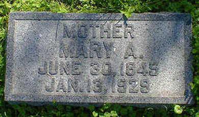 HARRIS, MARY A. - Cerro Gordo County, Iowa | MARY A. HARRIS