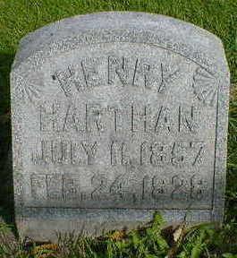 HARTHAN, HENRY - Cerro Gordo County, Iowa   HENRY HARTHAN