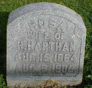 HARTHAN, ROSA - Cerro Gordo County, Iowa | ROSA HARTHAN