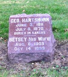 HARTSHORN, GEORGE - Cerro Gordo County, Iowa | GEORGE HARTSHORN