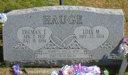 HAUGE, TRUMAN T. - Cerro Gordo County, Iowa   TRUMAN T. HAUGE