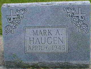 HAUGEN, MARK A. - Cerro Gordo County, Iowa | MARK A. HAUGEN