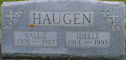 HAUGEN, IDELLE - Cerro Gordo County, Iowa | IDELLE HAUGEN
