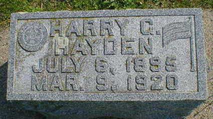 HAYDEN, HARRY C. - Cerro Gordo County, Iowa | HARRY C. HAYDEN
