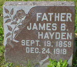 HAYDEN, JAMES B. - Cerro Gordo County, Iowa | JAMES B. HAYDEN