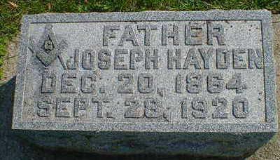 HAYDEN, JOSEPH - Cerro Gordo County, Iowa | JOSEPH HAYDEN