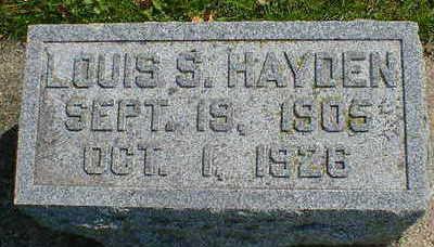 HAYDEN, LOUIS S. - Cerro Gordo County, Iowa | LOUIS S. HAYDEN