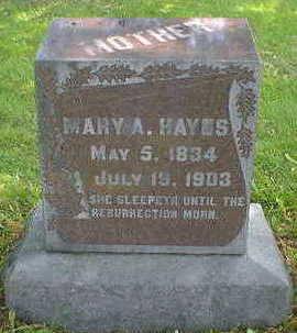 HAYS, MARY - Cerro Gordo County, Iowa | MARY HAYS