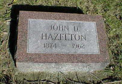HAZELTON, JOHN D. - Cerro Gordo County, Iowa | JOHN D. HAZELTON