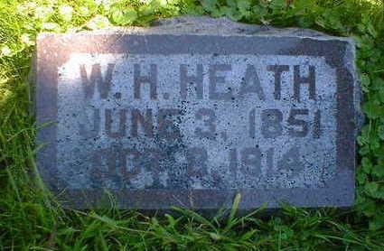 HEATH, W. H. - Cerro Gordo County, Iowa   W. H. HEATH