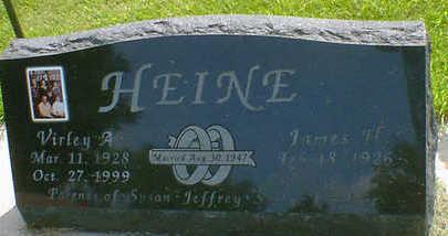 HEINE, VIRLEY A. - Cerro Gordo County, Iowa | VIRLEY A. HEINE