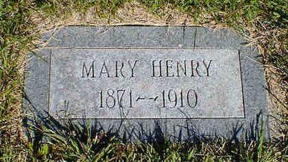 HENRY, MARY - Cerro Gordo County, Iowa | MARY HENRY