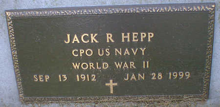 HEPP, JACK R. - Cerro Gordo County, Iowa | JACK R. HEPP